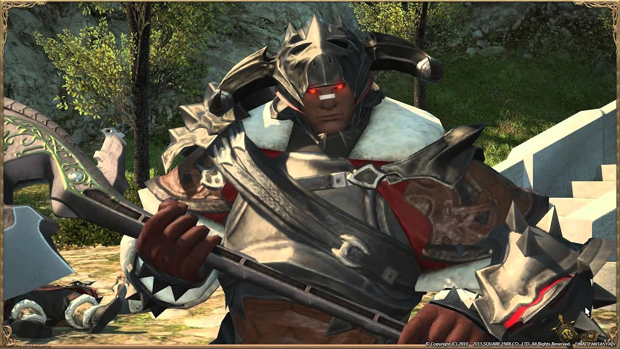 ff14 warrior - photo #33