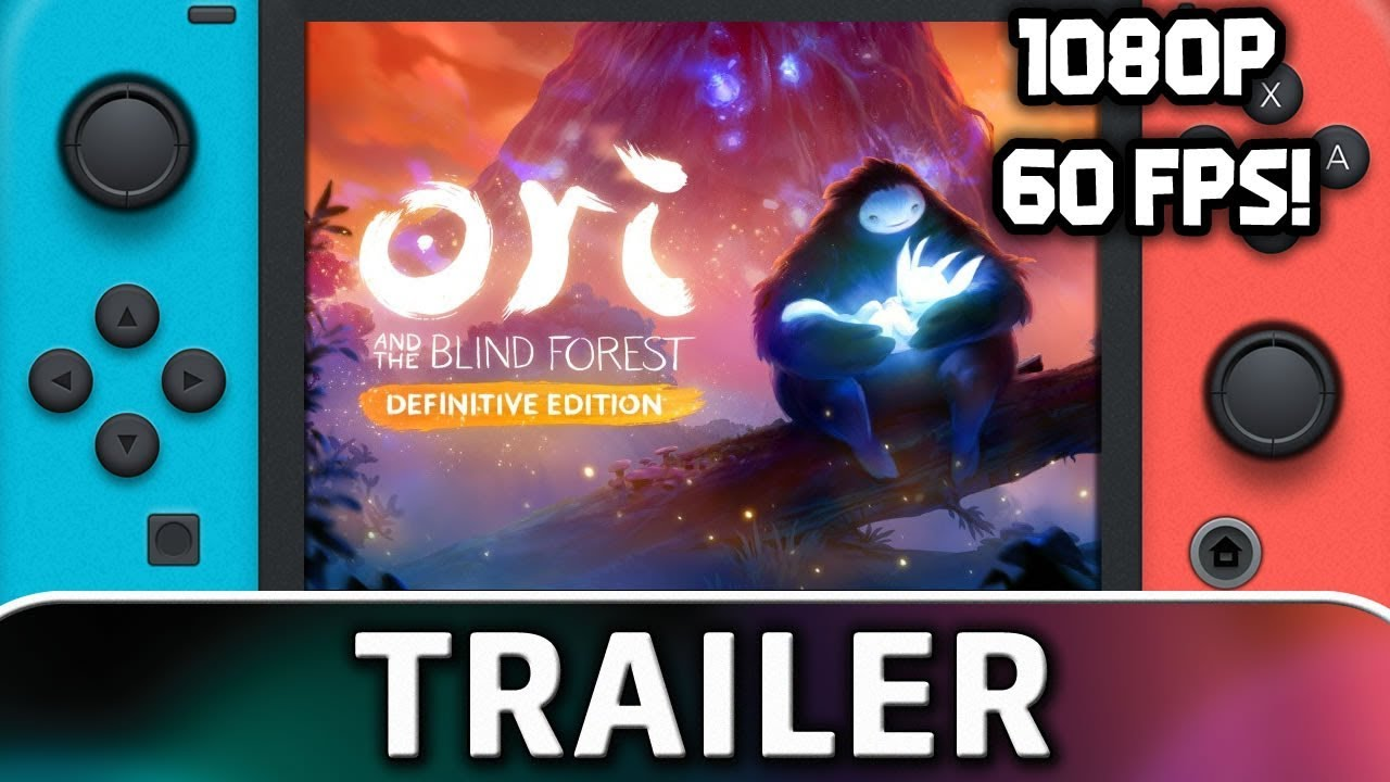 Ori and the Blind Forest runs at 1080p and 60 FPS on Nintendo Switch