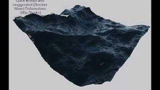 Custom 3ds Max - Max Scripted Procedural Ocean (Gerstner Wave) by