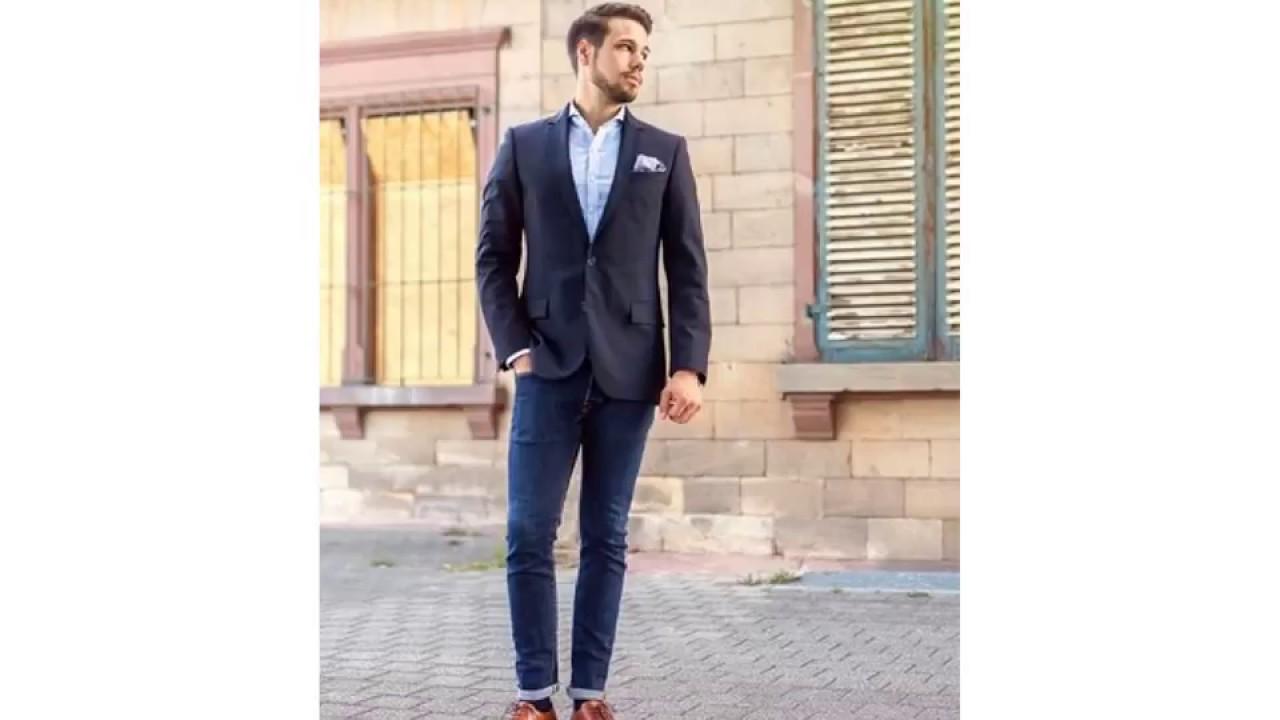 58d9bc78e5ad Black jacket jeans brown shoes youtube jpg 1280x720 Black jacket shoes