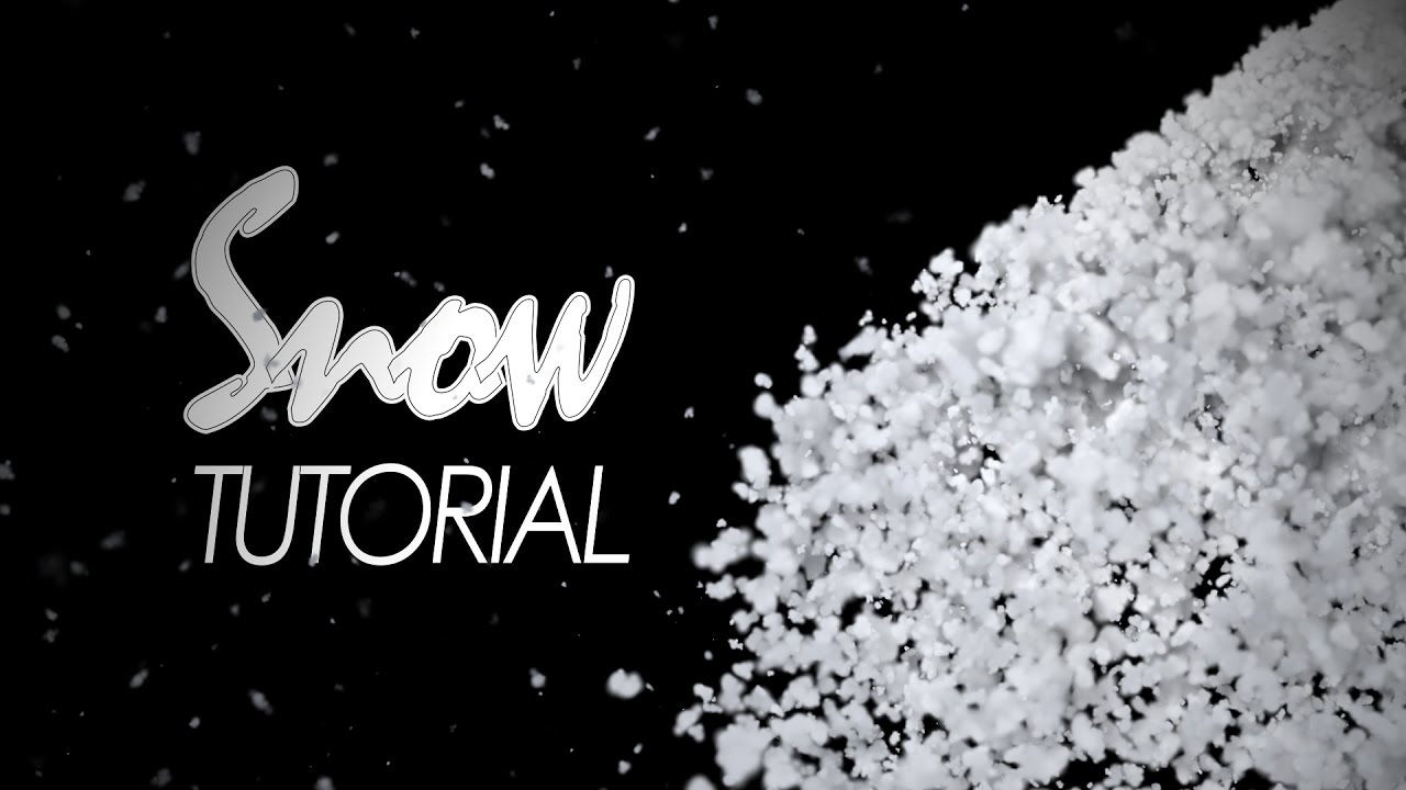 Snow in After Effects / Snow transition