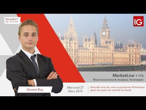 #MarketLive 11h - Mercredi 27 mars 2019