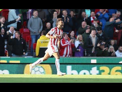 Eric Maxim Choupo-Moting - Incredible Skills Goals - Stoke City 17/18