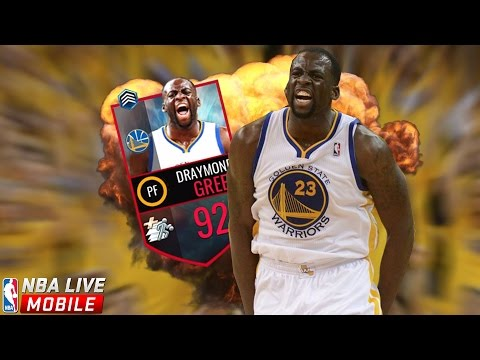 92 DRAYMOND GREEN! 3/6 NBA MASTERS COMPLETE! NBA Live Mobile Gameplay