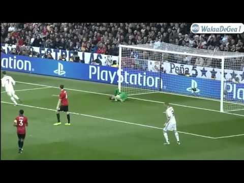 David De Gea Vs Real Madrid at Estadio Santiago Bernabeu. ♦13-2-2013♦ HD.