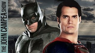 Report Reasserts Affleck-Cavill Are Out As Batman And Superman - The John Campea Show