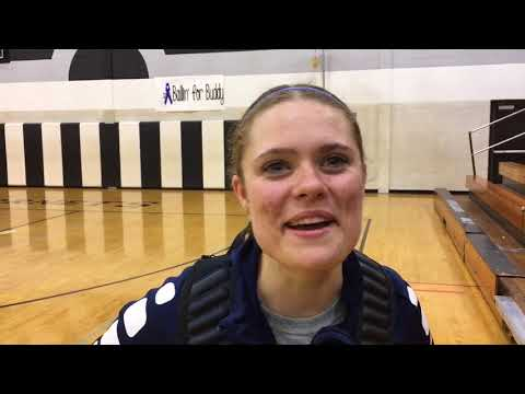 Senior Ryan Darby says Goodrich girls are ready for state tournament