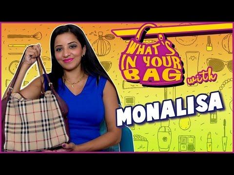 Monalisa Handbag SECRET REVEALED | What's in your Bag | TellyMasala