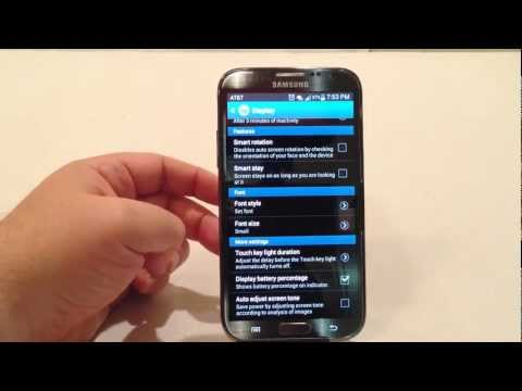 Samsung Galaxy Note Tricks And Tips Maximize Battery Life