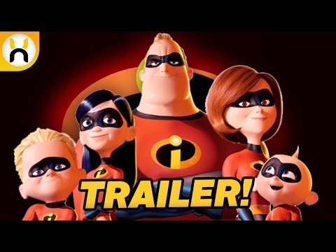 The Incredibles 2 TRAILER Release Date Confirmed