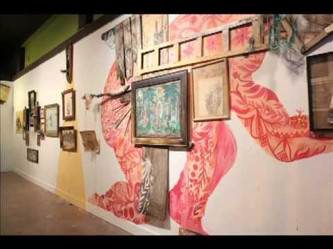 """Audio Slideshow: """"In Between"""" Oakland art gallery"""