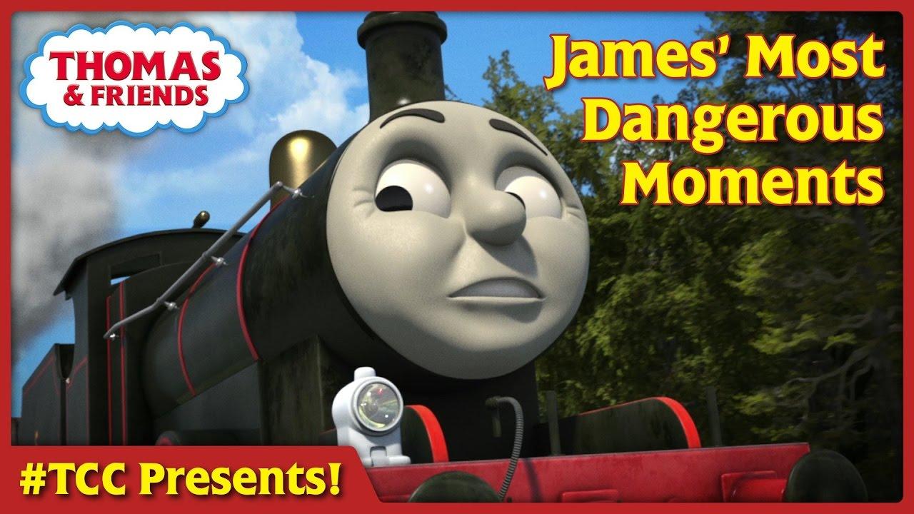 James Most Dangerous Moments  Thomas Creator Collective