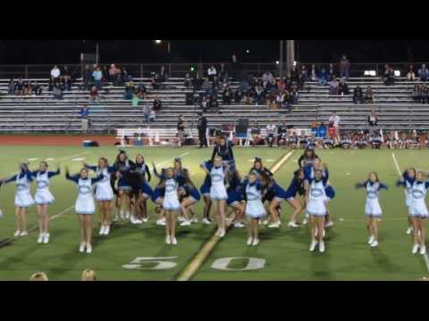 JV and Varsity Cheerleading Squads; Homecoming Salem H.S. PCEP, Plymouth-Canton, Michigan 2013