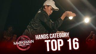 Hafiz (SG) vs Barry (MY) | Hands Cat Top16 | Marksman Vol. 2 | RPProds