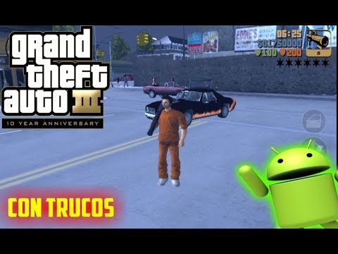 GTA 3 para android apk hack  #Smartphone #Android