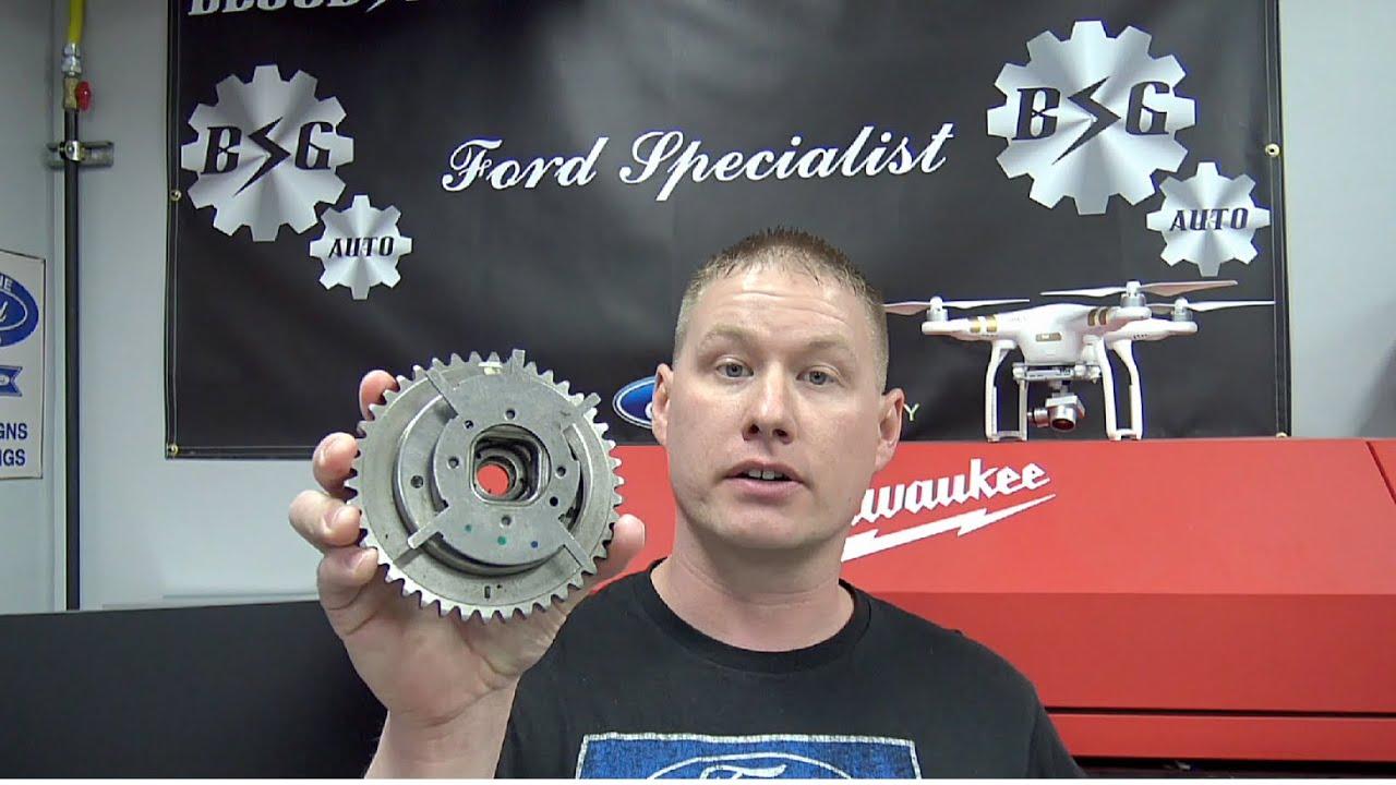 Ford 46l 54l 3v Engines Camshaft Phaser Failure Inspection 2005 F 150 Crankshaft Sensor Wiring Diagram