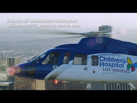 Saving Childrens Lives Using S-76® is Helinets Most Important Mission