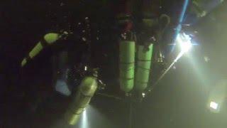 Рекорд мира - самое глубокое погружение человека под лед в море(Видео, снятое во время рекордного погружения экспедиции