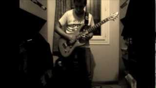 Steel Panther - Eyes Of A Panther - Guitar Cover & Solo