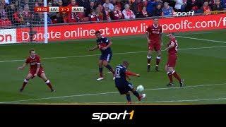 5:5! Tor-Spektakel beim Legendenspiel FC Liverpool-FC Bayern | SPORT1