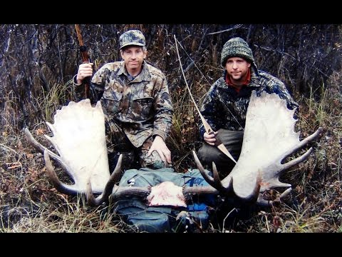 Alaska Archery Moose Hunt with giant 66