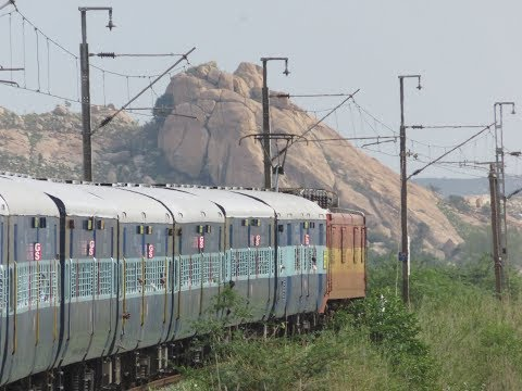 The Land of the Seven Hills: Chennai-Tirupati-Chennai; Sapthagiri Express