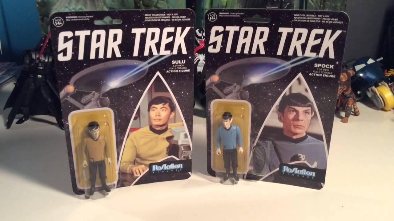 Star Trek ReAction Figures Sulu Action Figure