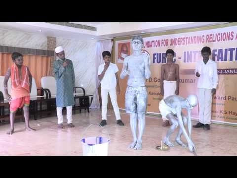 Unity In Diversity- A silent skit by the students of Hebron school,Tiruvannamalai