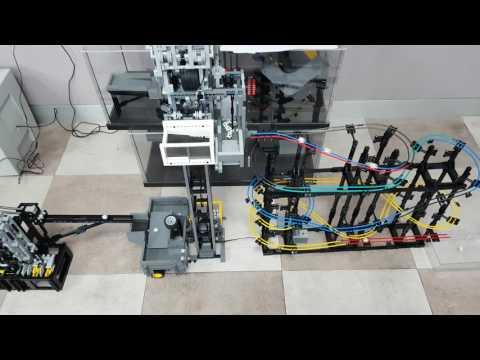LEGO GBC Elevator Module & Marble Run