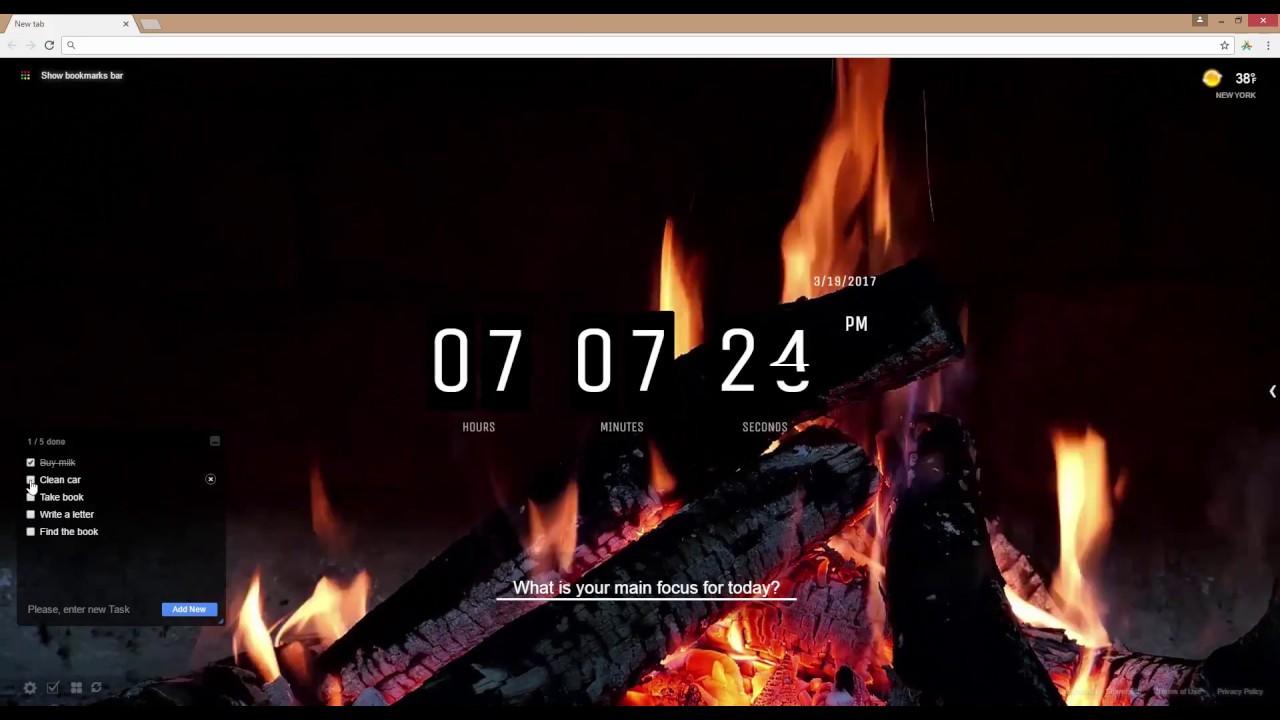 Campfire Fire Fireplace Live Wallpaper