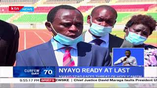 Renovation of the Nyayo Stadium almost complete