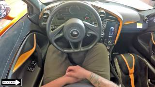 2018 McLaren 720S POV | Kinda Pagani?