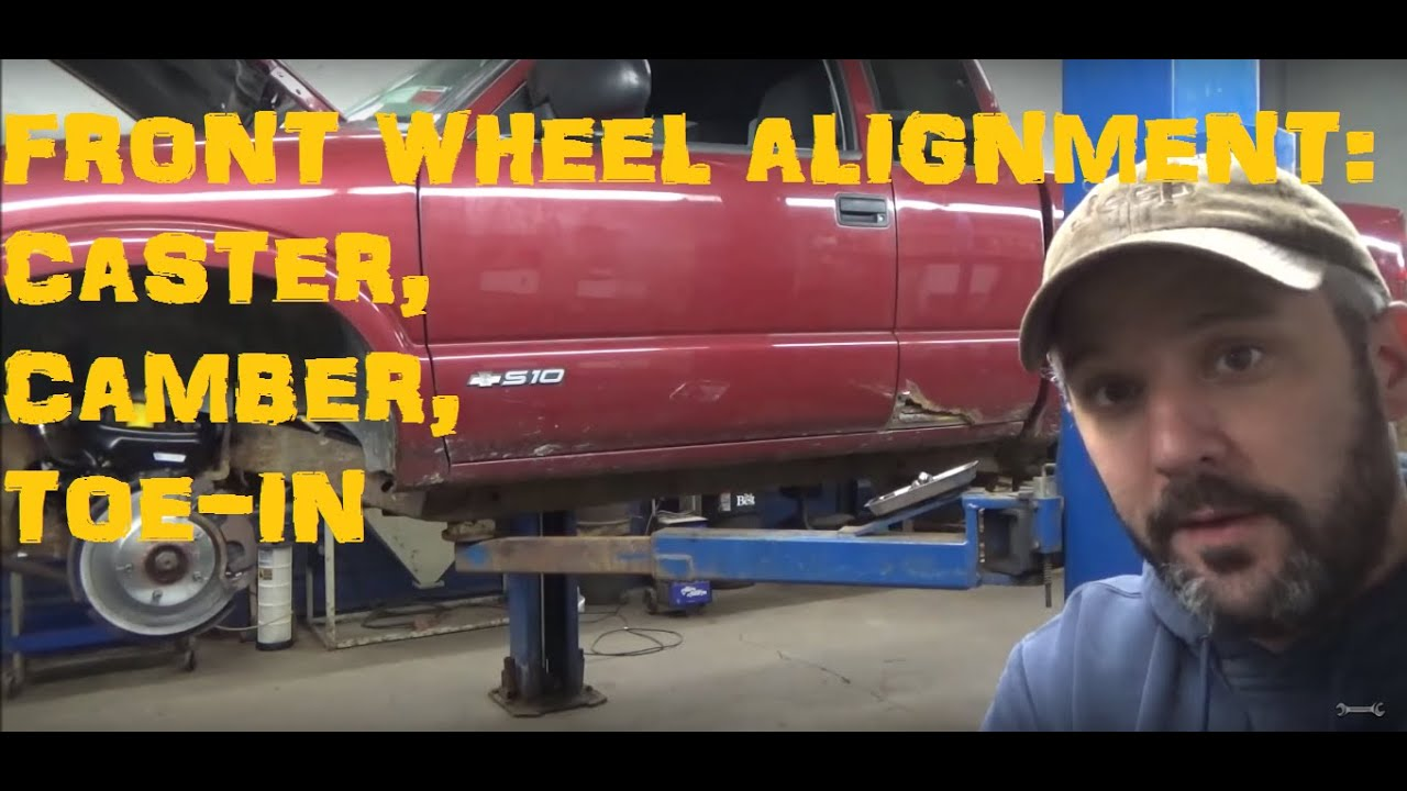 Front Wheel Alignment - Caster, Camber & Toe