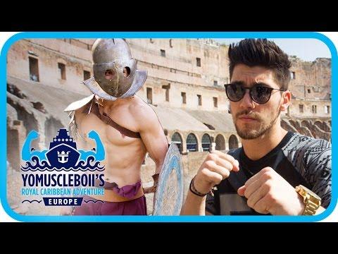 Gladiator Training - Rome | Royal Caribbean Adventure: EUROPE