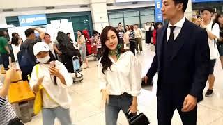 170819 [Fancam] Jessica @ incheon airport