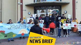 PIB rallies in support of Wet'suwet'en