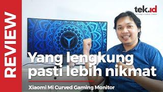 "Xiaomi Mi Curved Gaming Monitor 34"", bukan monitor lengkung biasa!"