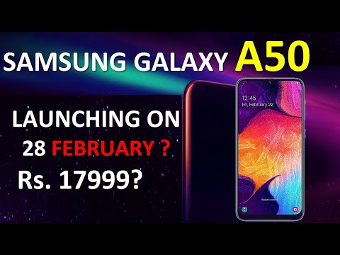 Samsung Galaxy A50 - Price In India | Specs | Camera | Battery | Performance | A50 Vs Note 7 Pro