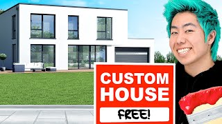 I Gave A Custom House To Random People For Free