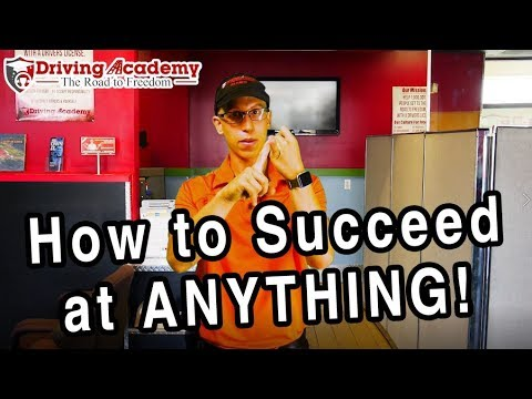 How to Succeed at ANYTHING you Put Your Mind to - CDL Driving Academy