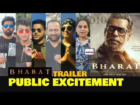 Bharat Trailer Public Excitement | Salman Khan As Bharat | Katrina Kaif | Eid 2019 | Admin Ravi