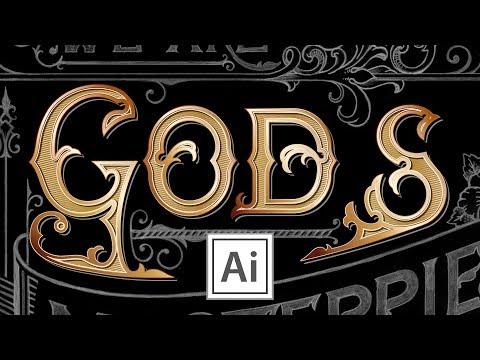 Custom Type Design - Vectorize the Letter S - in Adobe Illustrator (PART 4) thumbnail