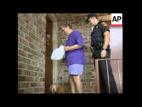 USA: ATLANTA: SECURITY GUARD SUSPECT IN BOMB INVESTIGATION UPDATE (2)