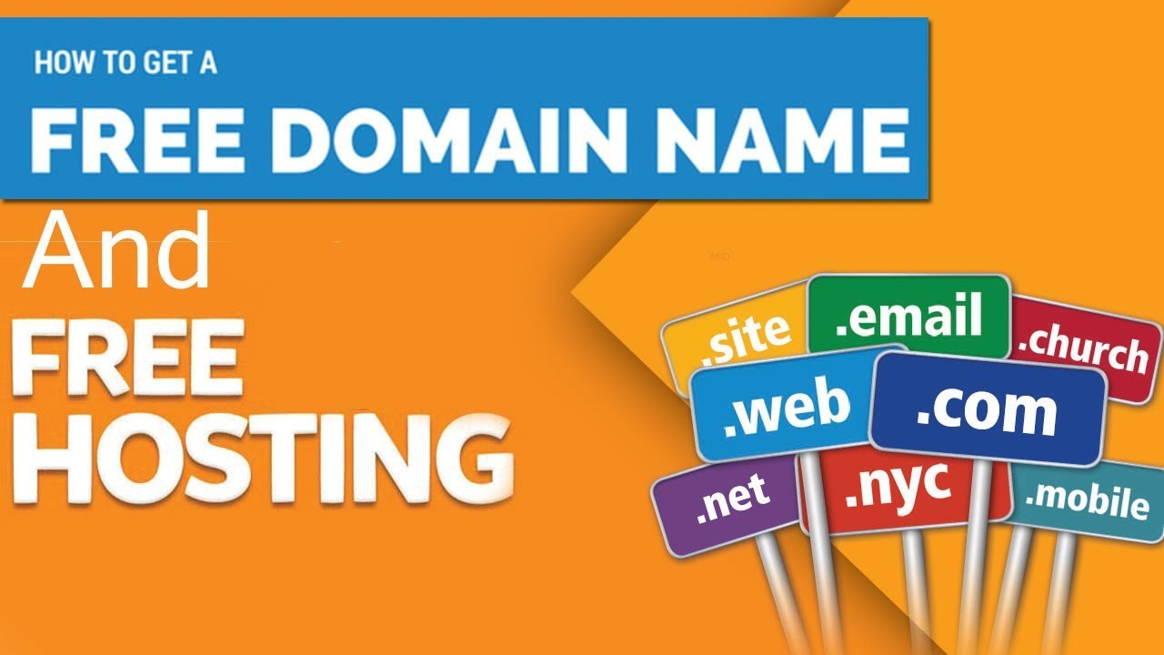 free domain name and hosting for 1 year