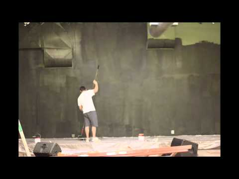 Re-painting the stage - Time lapse!!!