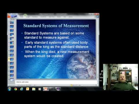Video Notes on C (History of Measurements)