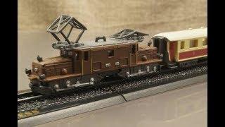 MINITRAINS 1/220 氷河急行 レーティッシュ鉄道Ge6/6 I形電気機関車 Zゲージ