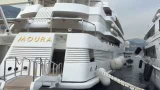 Lady Moura 105m Private Super yacht Monaco