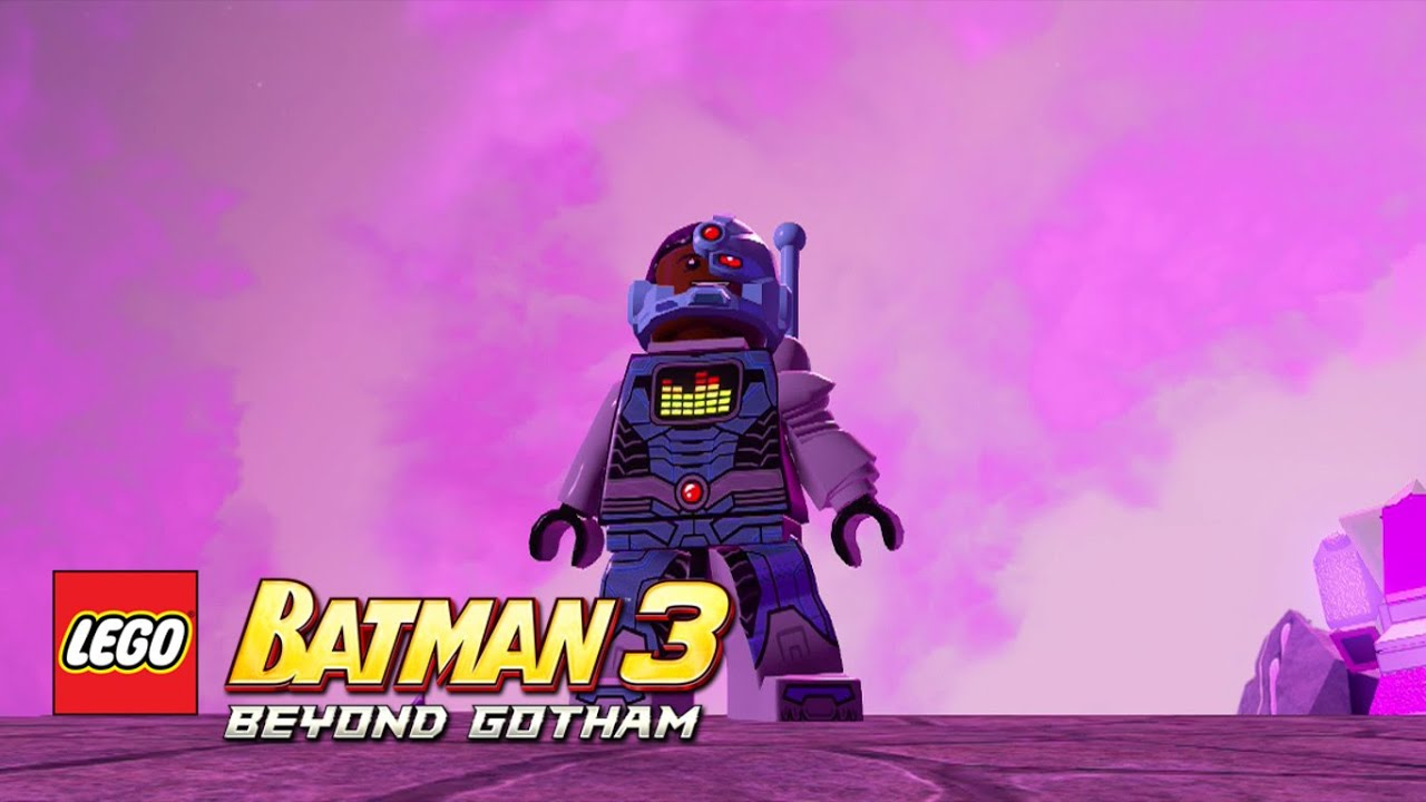 LEGO Batman 3: Beyond Gotham - Cyborg (Sonar Suit) Zamaron ...
