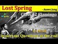 Lost Spring | CH-2 | Last 7 year Question paper in description | Class 12th | Flamingo